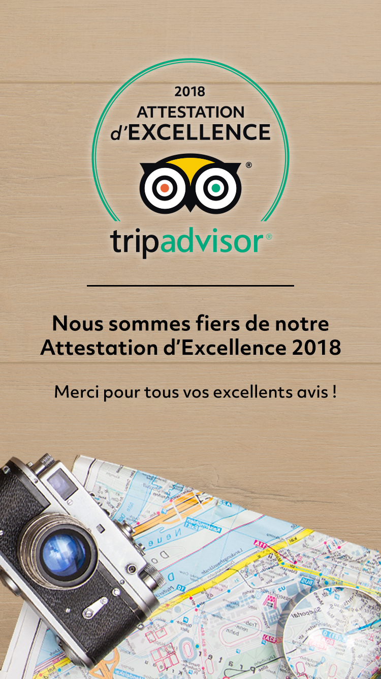 When in Bucharest - Trip Advisor Certificate of Excellence 2018