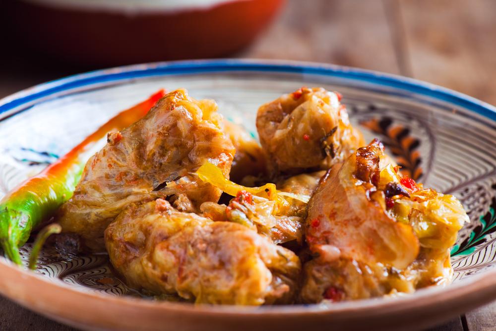 Traditional Romanian food